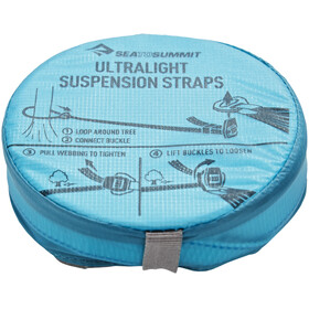 Sea to Summit Hammock Ultralight Suspension Straps grijs